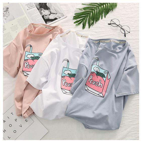 Peach Juice T-shirt (3 Colours)