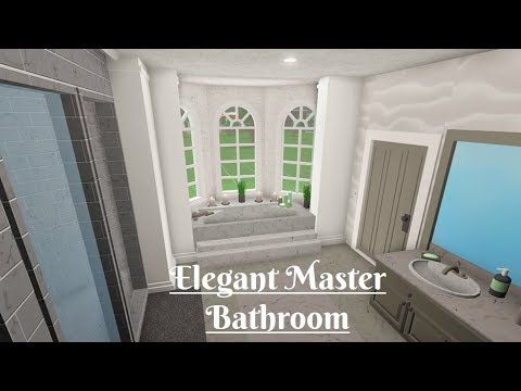 Roblox Bloxburg Laundry Room Tutorial Youtube Cute Bathroom Ideas Interior Design Lounge Living Room Decor Apartment