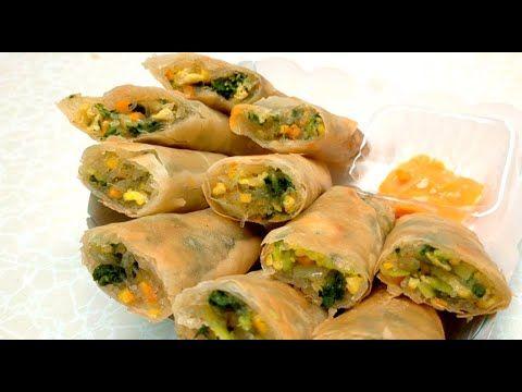 Ide Kuliner Kreatif Lumpia Taiwan Isi Telur Dan Sayur