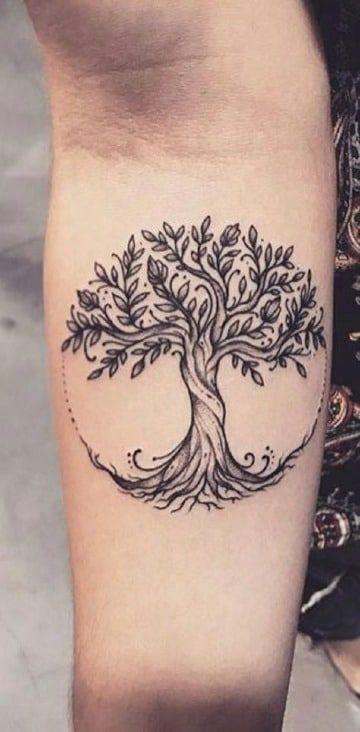 Algunos De Los Mejores Tatuajes Del Arbol De La Vida Tatuaje Del árbol De La Vida Tatuaje árbol De La Vida Tatuaje De árbol Para Hombres