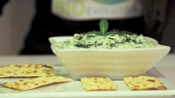 TZATZIKI VEGANO - (Salsa Greca / Antipasto) Ricette Vegan di Cucina BioE...