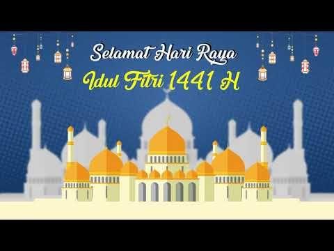 Template Ucapan Idul Fitri 1441 H Free Bebas Di Download Youtube Di 2020 Foto Lucu Seni Islamis Spanduk