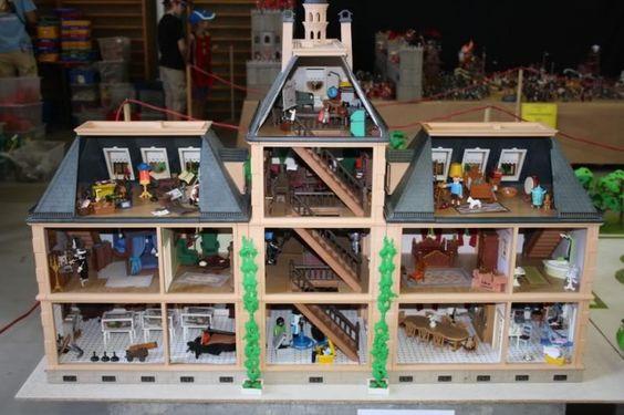 Le ch teau de moulinsart tintin 21 tintin love pinterest playmobil g - Le chateau de moulinsart ...