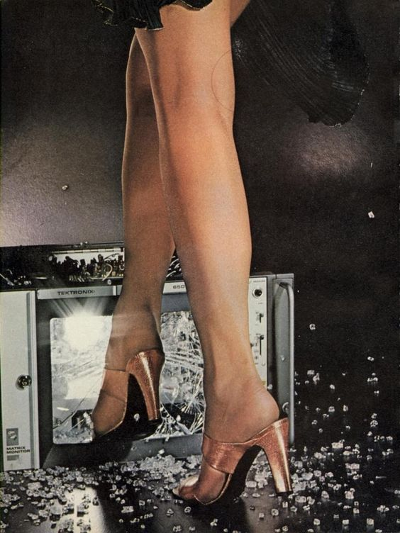 shoe report, by chris von wangenheim for vogue us march 1977.
