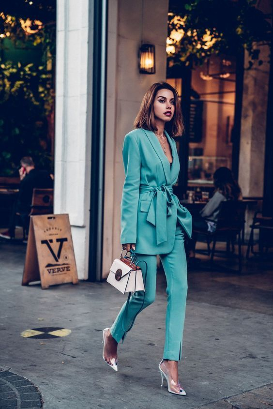 The biggest  and hottest trend of the season has go to be the Suit – but make sure you rock  it in colour! Check out our fabulous inspiration and insight on how to rock  this trend plus 21 fantastic picks to choose from.