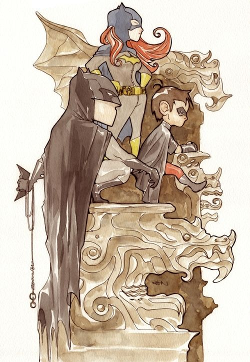Li'l Gotham by Dustin Nguyen:
