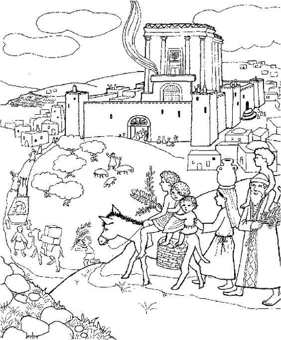 Building the temple coloring pages coloring pages for Building the temple coloring pages