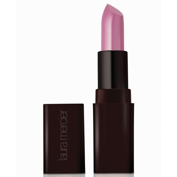Laura Mercier Creme Smooth Lip Color, 0.14 oz ($28) ❤ liked on Polyvore featuring beauty products, makeup, lip makeup, lipstick, royal orchid, laura mercier lipstick and laura mercier