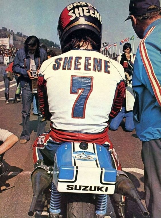 BARRY SHEENE #MotoGP #Suzuki