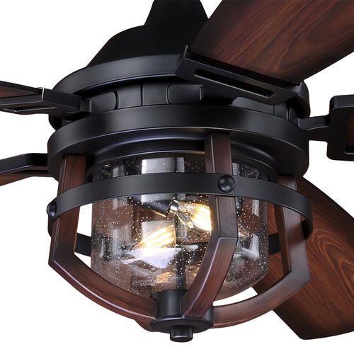 replica wood indoor outdoor ceiling fan