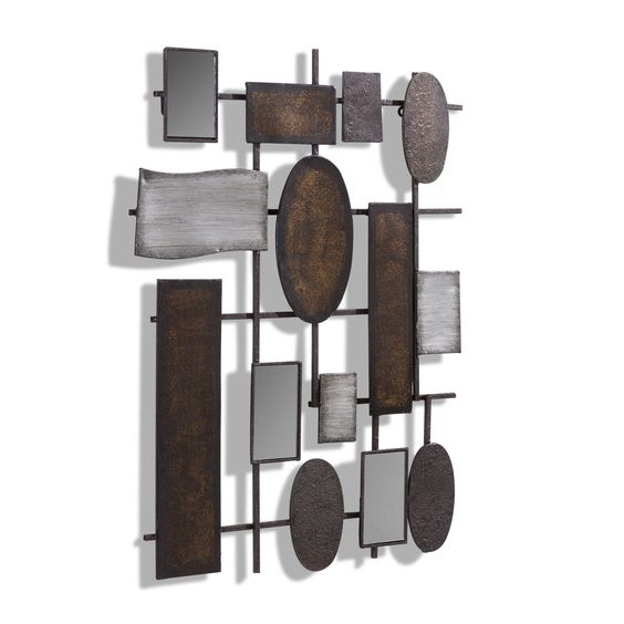Boltze Wanddeko Waka 74 x 55 cm - Wandobjekte - Wanddeko - Dekorieren