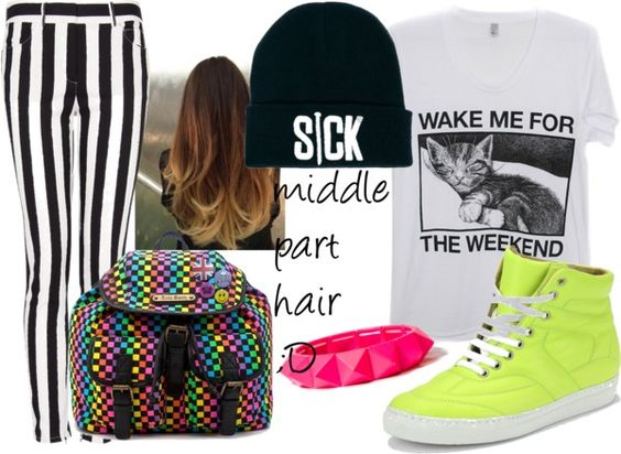 """""""SICK!"""" by nutellkowa ❤ liked on Polyvore"""