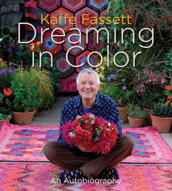 Kaffe Fassett has led an extraordinary life and is a captivating storyteller with a vivid memory. Born in 1937, he spent much of his youth in Big Sur, California, where his parents bought a cabin from