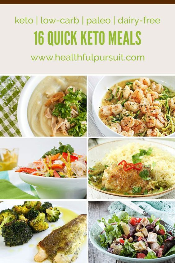 16 quick keto meals low carb paleo dairy free for Quick and easy low carb dinner ideas