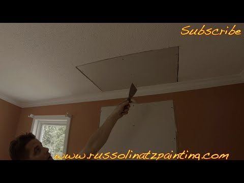 Popcorn Ceiling Removal Ceiling Drywall Repair Ram Board Part 1 Drywall Repair Popcorn Ceiling Drywall