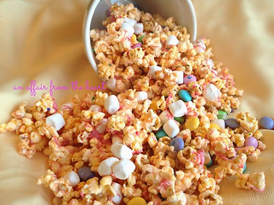 an affair from the heart: SPRING candy coated POPCORN