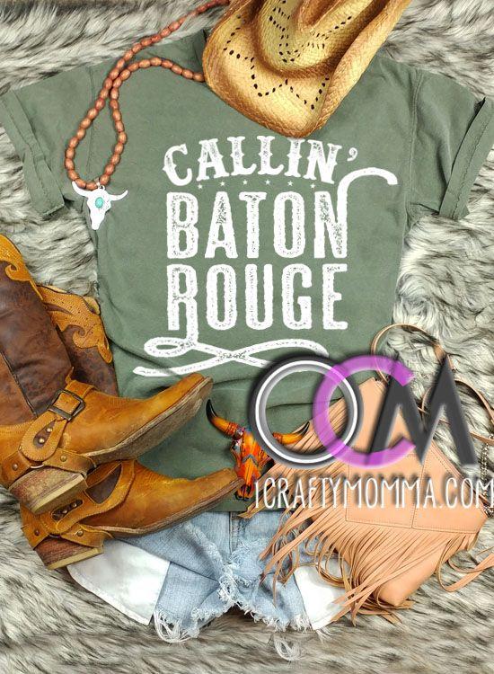 Calling Baton Rouge Shirt- Muscle Tank Country Concert Tank Garth Brooks Lyric Tank Top Callin Baton Rouge Tank