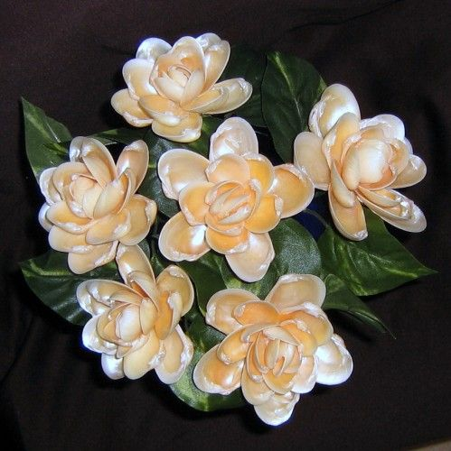Seashell crafts six jingle shell seashell crafts flowers for Seashell ornaments craft