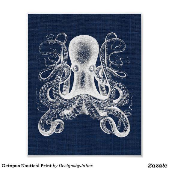 Kraken-Seedruck Plakat
