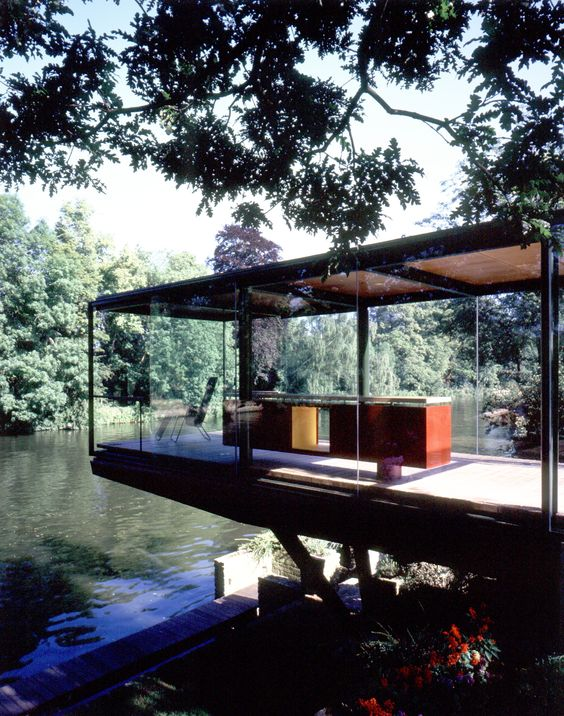 Steel Study House II / Archipelontwepers | Steel, Architecture And House