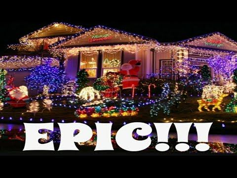 2 Best Christmas Lights 2018 Awesome Music Youtube Christmas Light Show Best Christmas Lights Christmas Light Displays