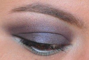 Smoky dark blue eyes with #revlon