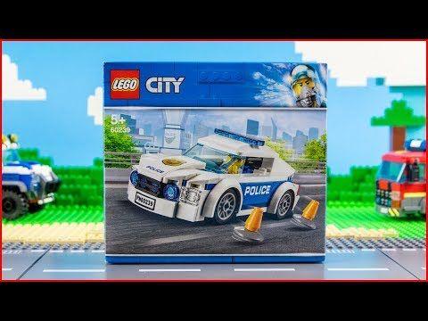 Lego City 60239 Police Patrol Car Construction Toy Unboxing Lego City Construction Toy Lego