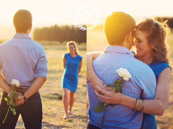 Engagement session with two beautiful people!