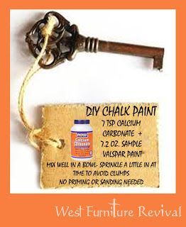 Chalk paint diy homemade chalk paint and furniture on pinterest