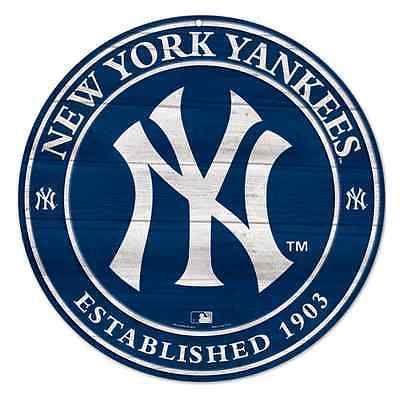 New York Yankees Established 1903 Blue Wood Sign 20 X20 Brand New Wincraft New York Yankees Logo New York Yankees Ny Yankees Logo