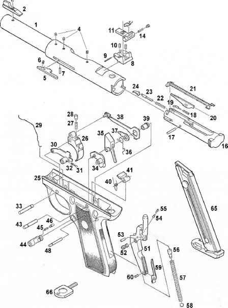 Glock 22 Diagram