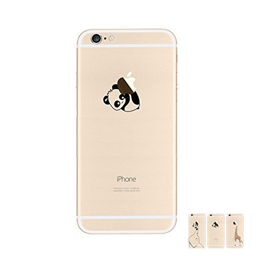 HopMore Cover iPhone 6S iPhone 6 Panda