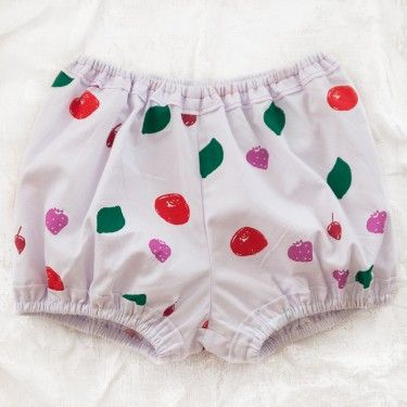 wovenplay fruit bubble shorts