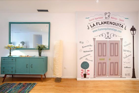 Apartamento La Flamenquita Málaga, Málaga, Spain.