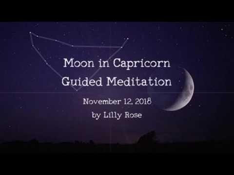 Moon In Capricorn Guided Meditation Guided Meditation Capricorn