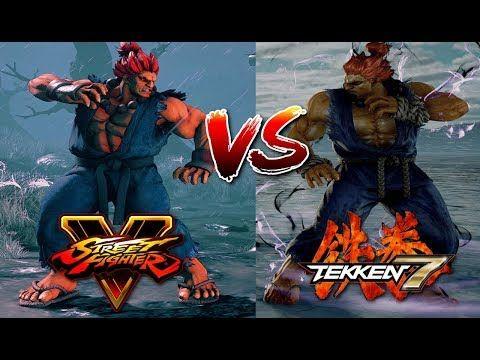 Tekken 7 Akuma Vs Street Fighter 5 Akuma Street Fighter Street Fighter 5 Fighter