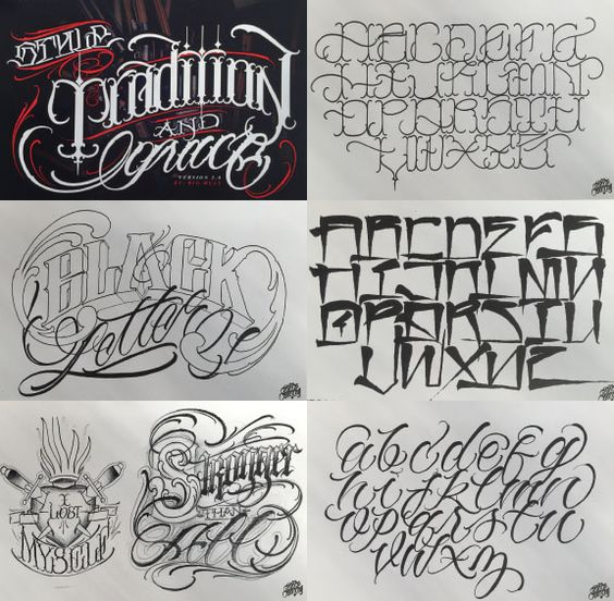 Create your own tattoo font and art work autos post for Design your own tattoo lettering