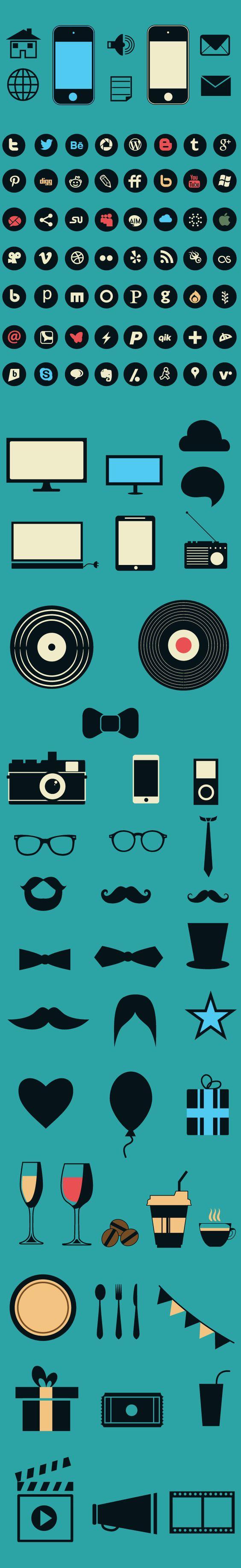 designtnt-social-media-flat-vector-elements-large.jpg (630×4102)
