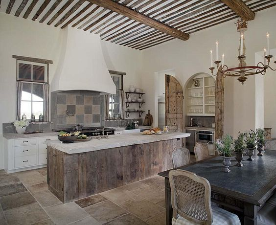 Love everything, rustic, clean, homey. Great kitchen
