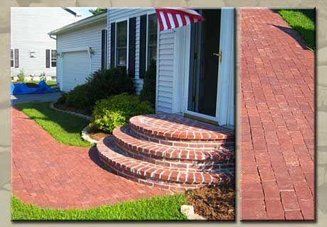 Best Rounded Brick Steps Front Porch Ideas Pinterest 400 x 300