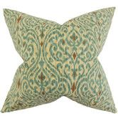 Found it at Wayfair - Ennis Ikat Cotton Throw Pillow