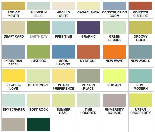 MCM Exterior House Colors