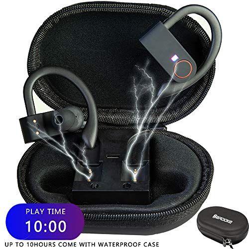 Hardoke Bluetooth Headphones True Wireless Earbuds 10 Ho Https Www Amazon Com Dp B07wcfc5zd Ref Cm Sw R Pi Wireless Earbuds Sports Headphones Headphones
