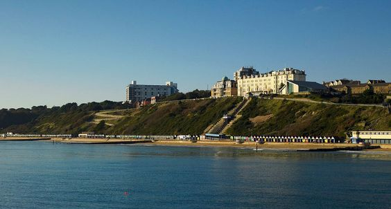 1944: 238th CBE stationed in Bournemouth and billeted at the Highcliff Hotel