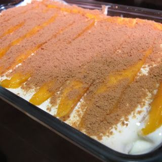 Mango Float Recipe By Jackie Go | Filipino Foods Recipes