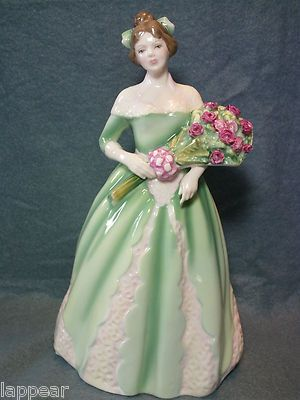 Royal Doulton Bone China Happy Birthday 1994 HN3660 EXCELLENT. Stunning a beautiful bone china figurine.: