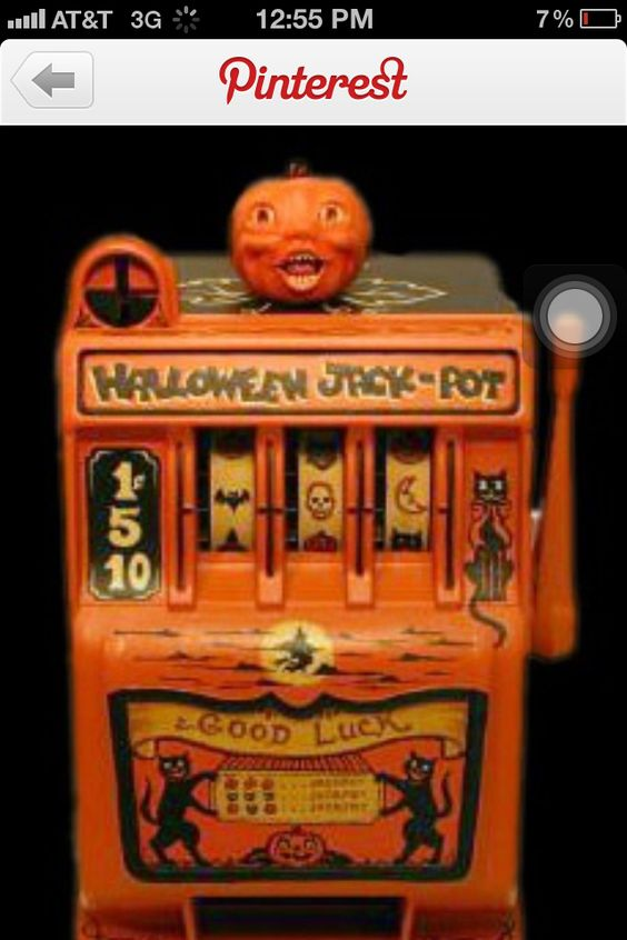 Altered art. slot machine