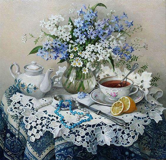 Lydia Datsenko - Still Life (Ukraine):