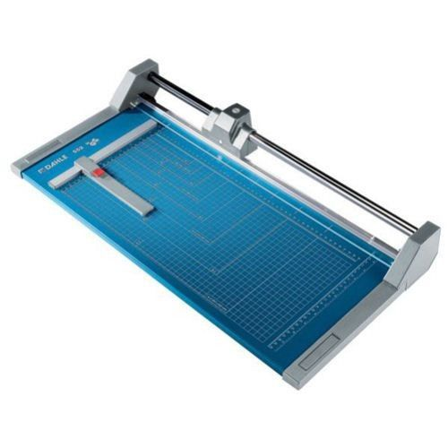 Dahle Model 552 Professional Rolling Trimmer 20 1 8 Inch Paper Trimmers Plastic Sheets Blade Sharpening