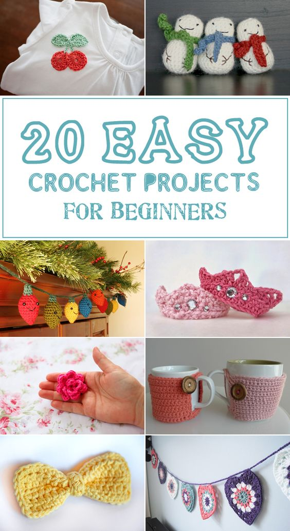 Crocheting Easy Projects : Crochet projects, Easy crochet projects and Easy crochet on Pinterest